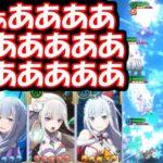 【リゼロス】アリーナ上位ランカーも愛用!?エミリア統一パーティーの実力を見よ!!!!!!!