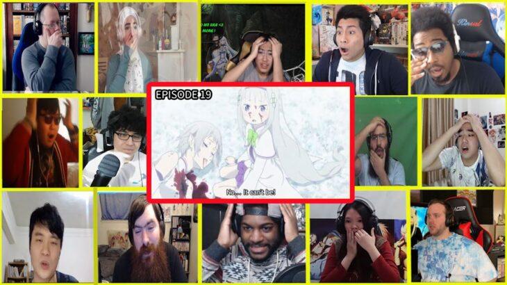 【海外の反応】RE-ZERO SEASON 2 Episode 19 Re-ゼロから始める異世界生活 2期 19話 リアクション MeGa Reaction mashup