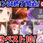 【リゼロス】アリーナ34終了目前!幼少期ラムパーティーで目指せベスト10!